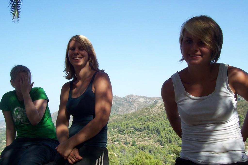 Andrea, Manu und Marlene