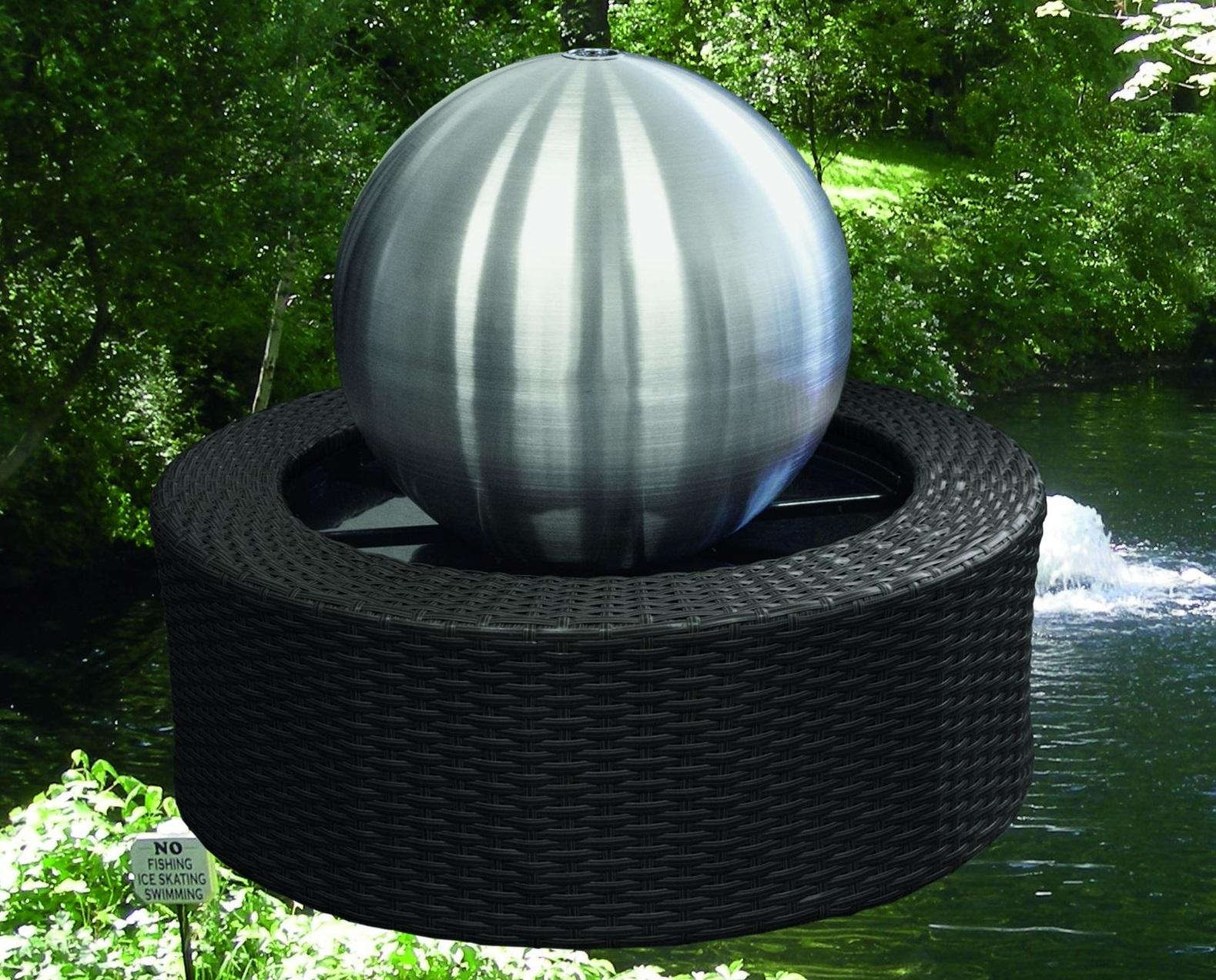 Brunnen Edelstahl.Edelstahl Brunnen Mit Led Beleuchtung