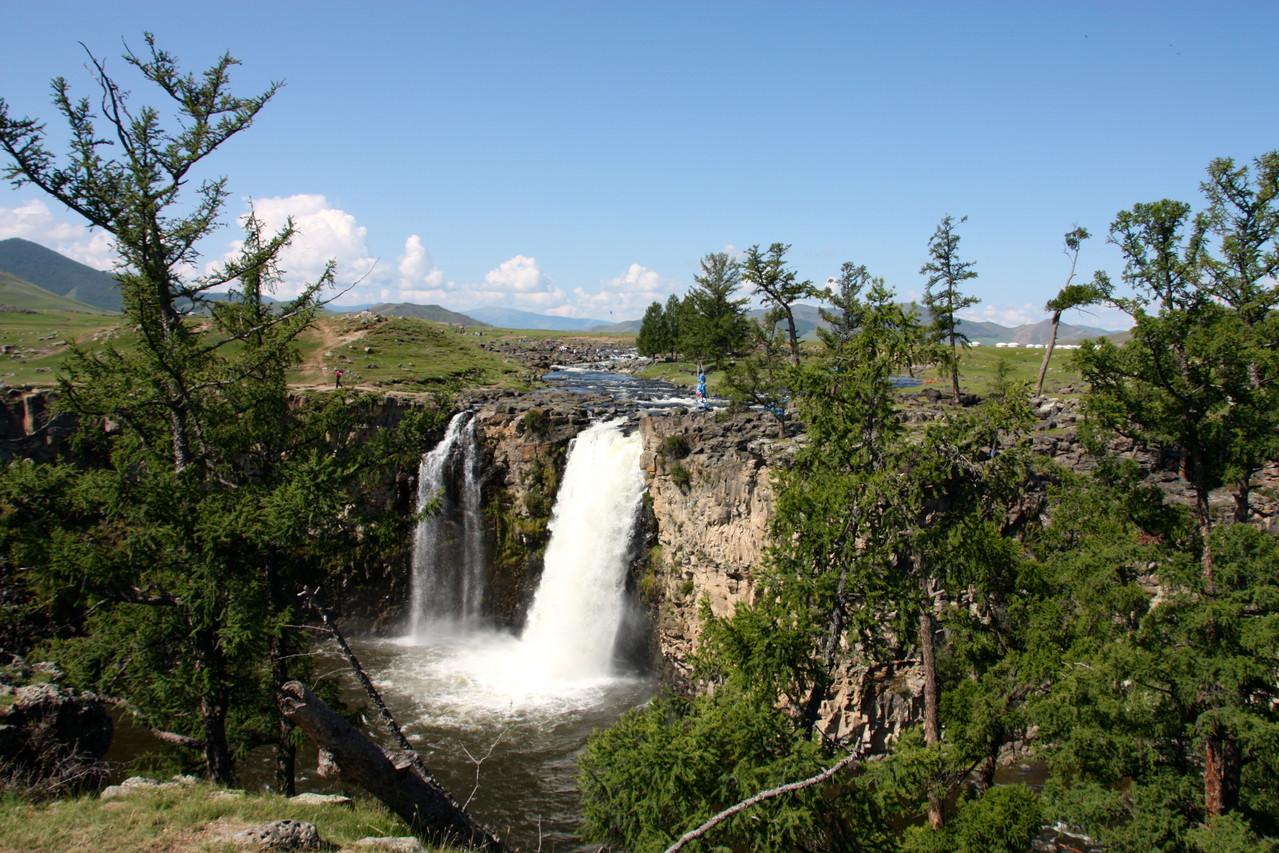 Les chutes de la vallée d'Orkhon