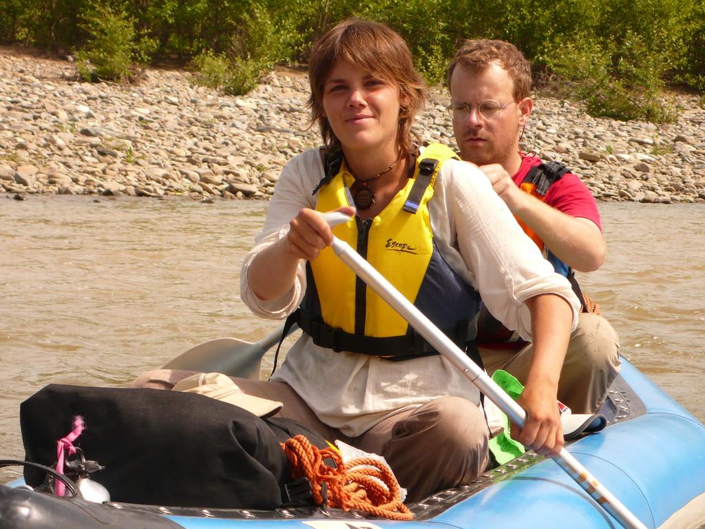 Descente canoe-raft en autonome sur plusieurs jours