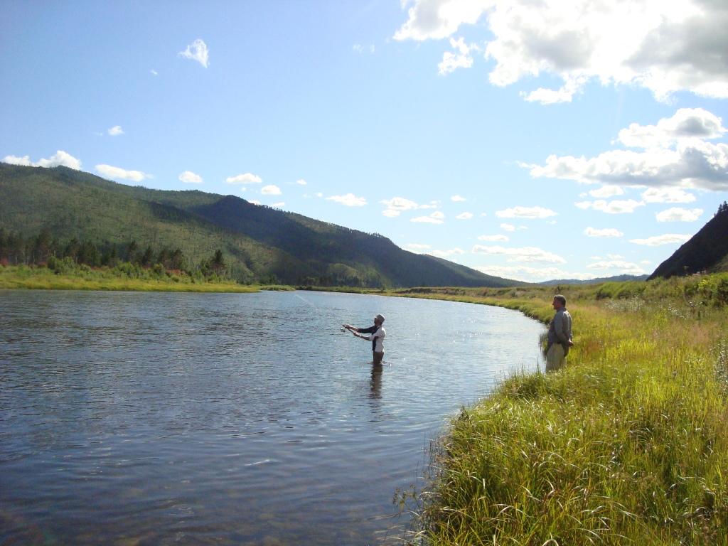 A la pêche à la truite