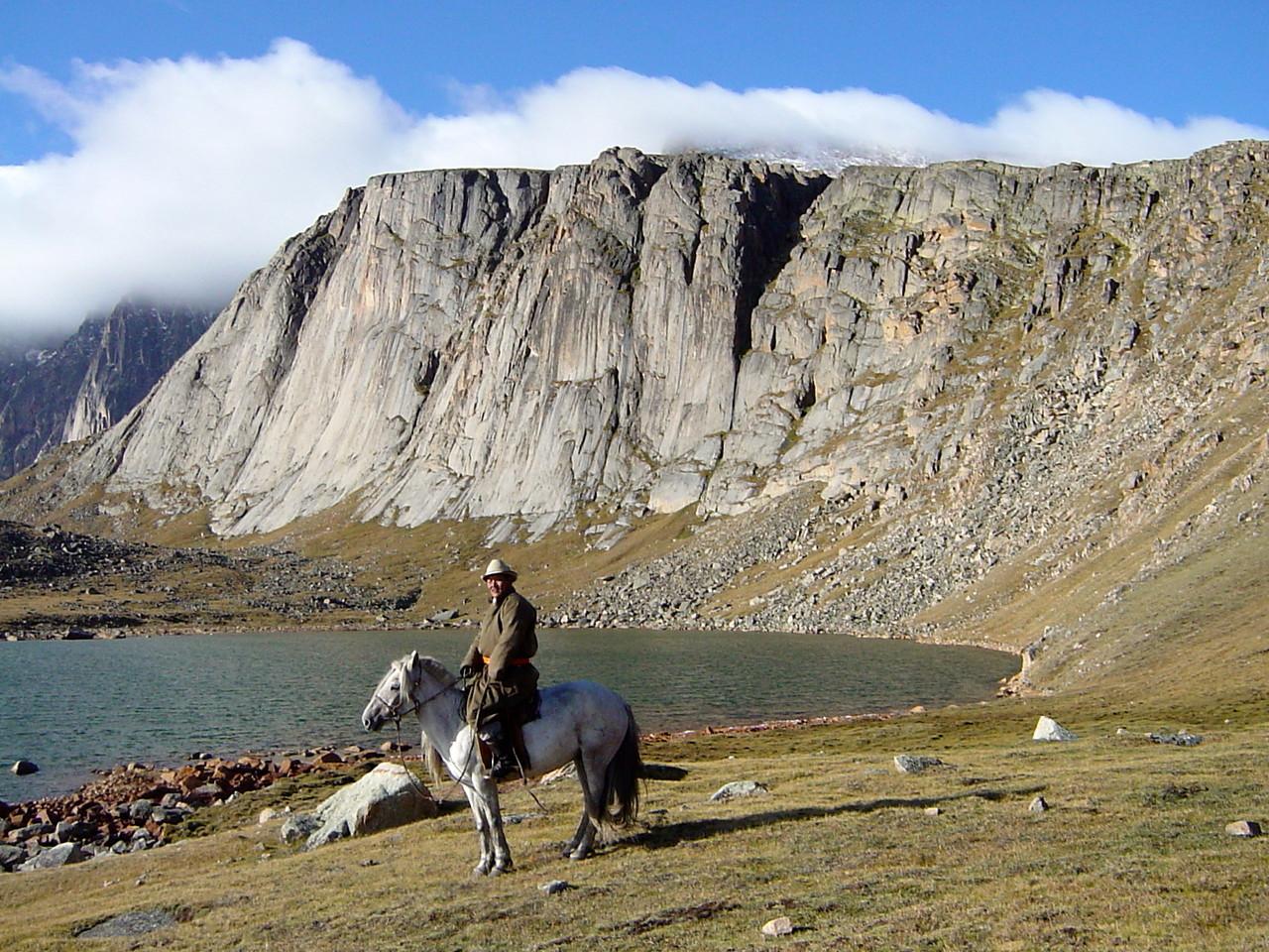 En altitude à cheval en Altai