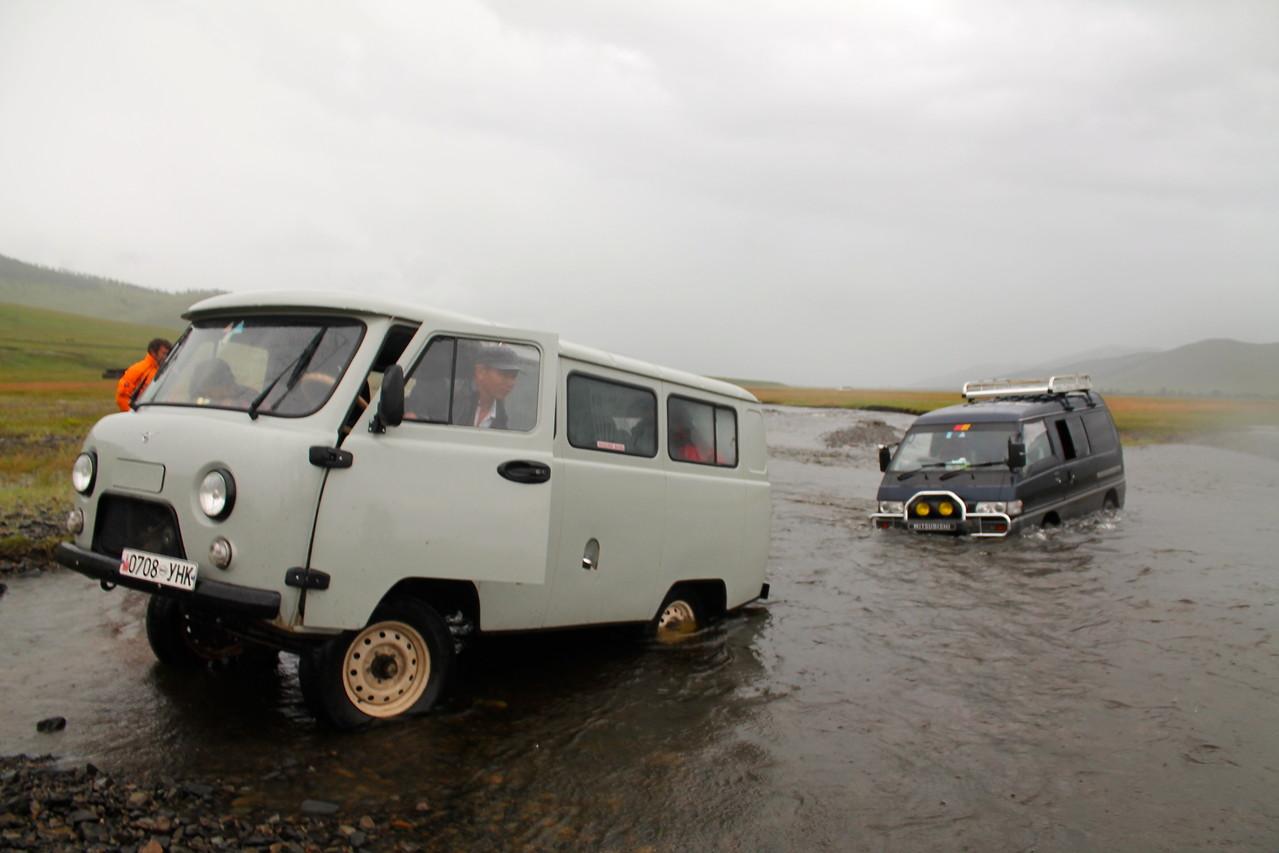 Par un autre minibus 4x4