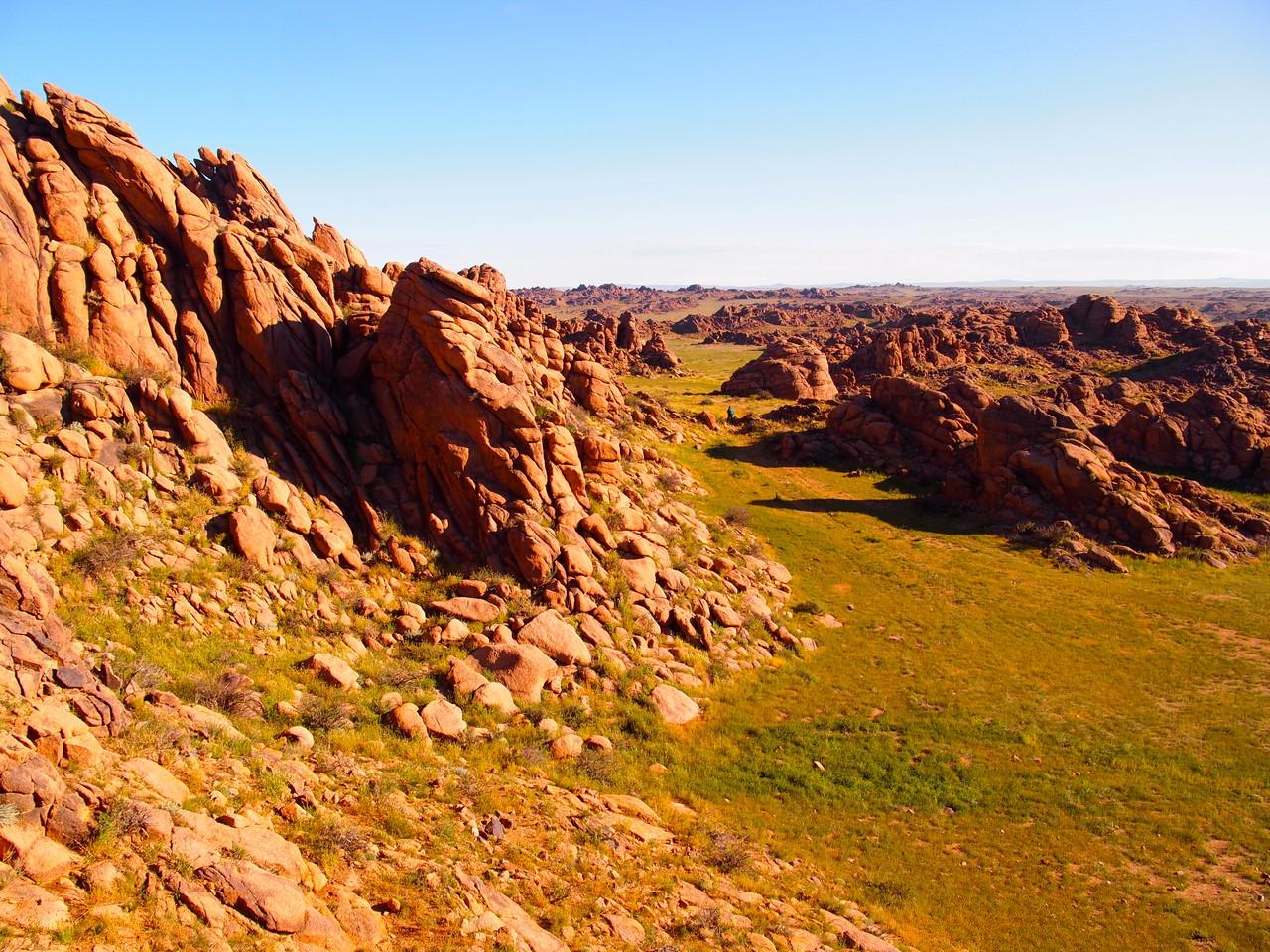 Formations rocheuses du Gobi