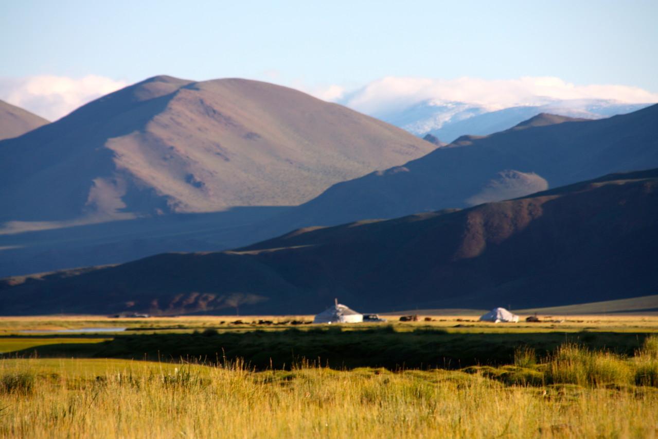 Le parc Altai Tavan Bogd