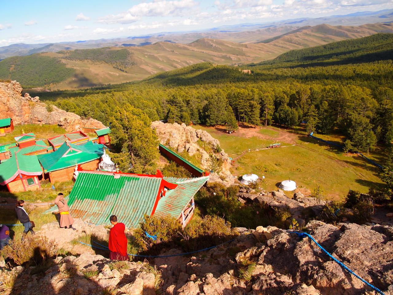 Au Khangai, le monastère de Tuvkhun au nord de l'Orkhon