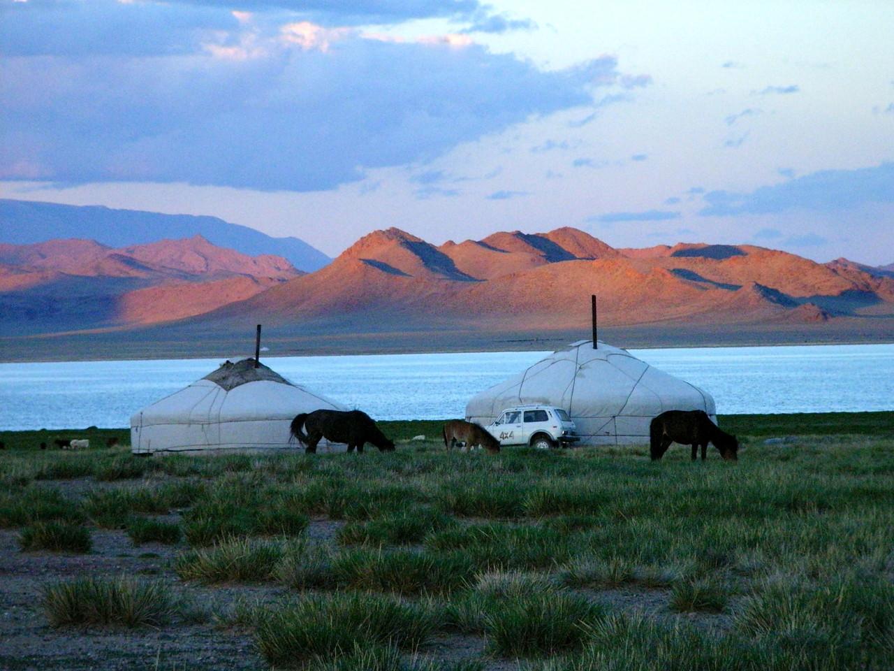 Lac Bayan en Altai