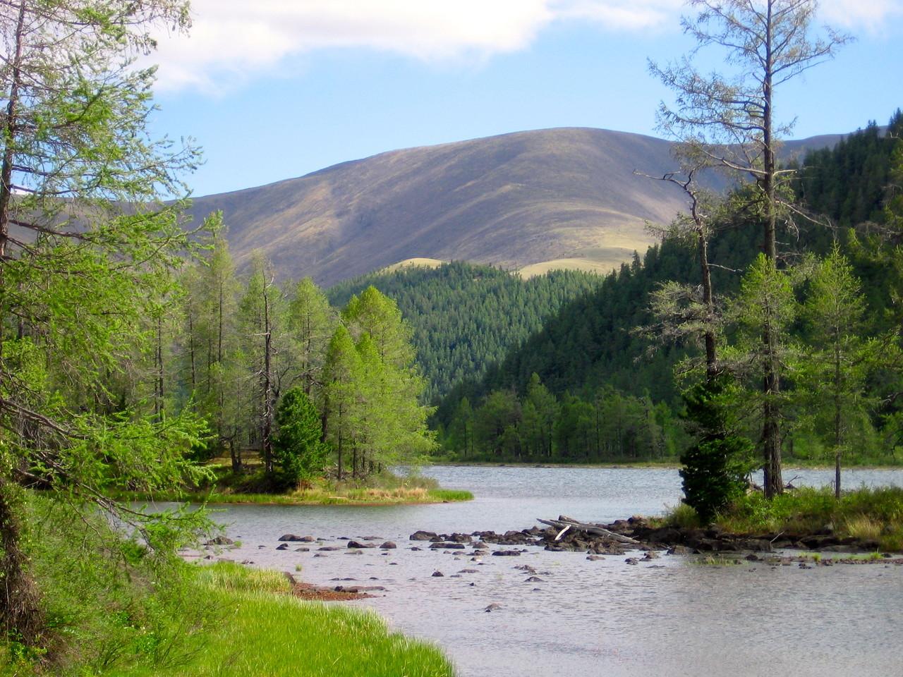 La région de Naiman nuur (les huit lacs)