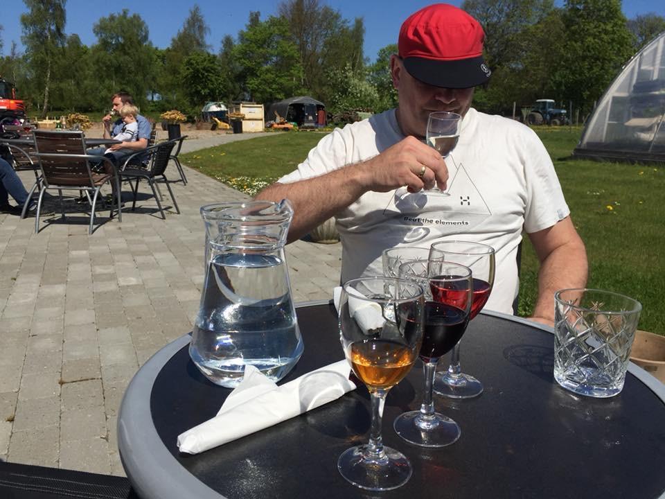 Weinprobe Årø Vingård