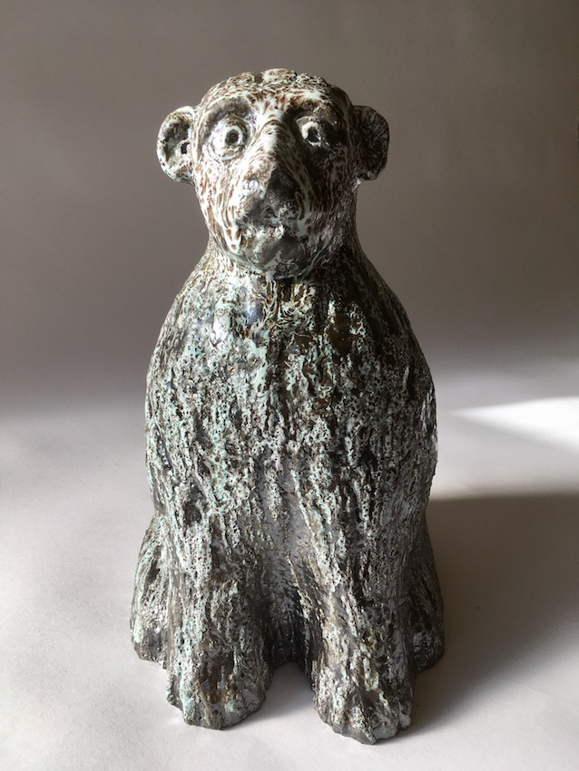 Chien-ours (h 29 x 8 x 20) P.U 2017