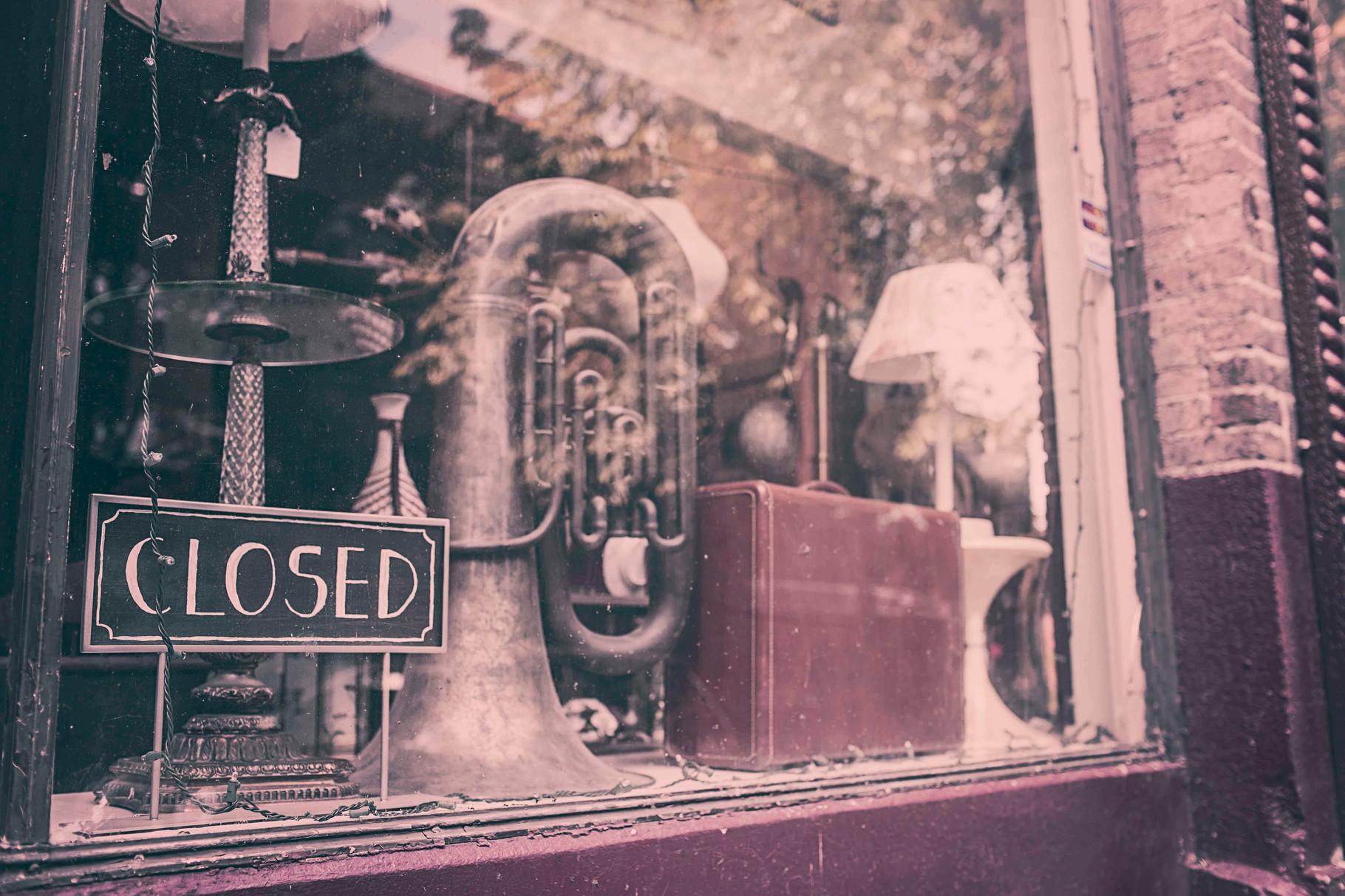 Posaune Schaufenster 2 Hochzeitsmusik