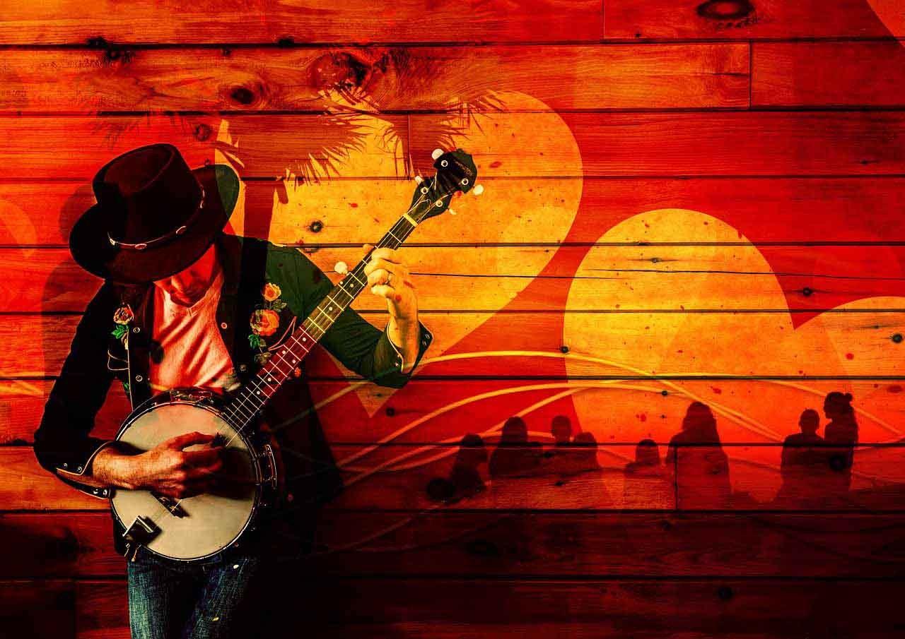 Musiker Gitarre Hochzeitsmusik