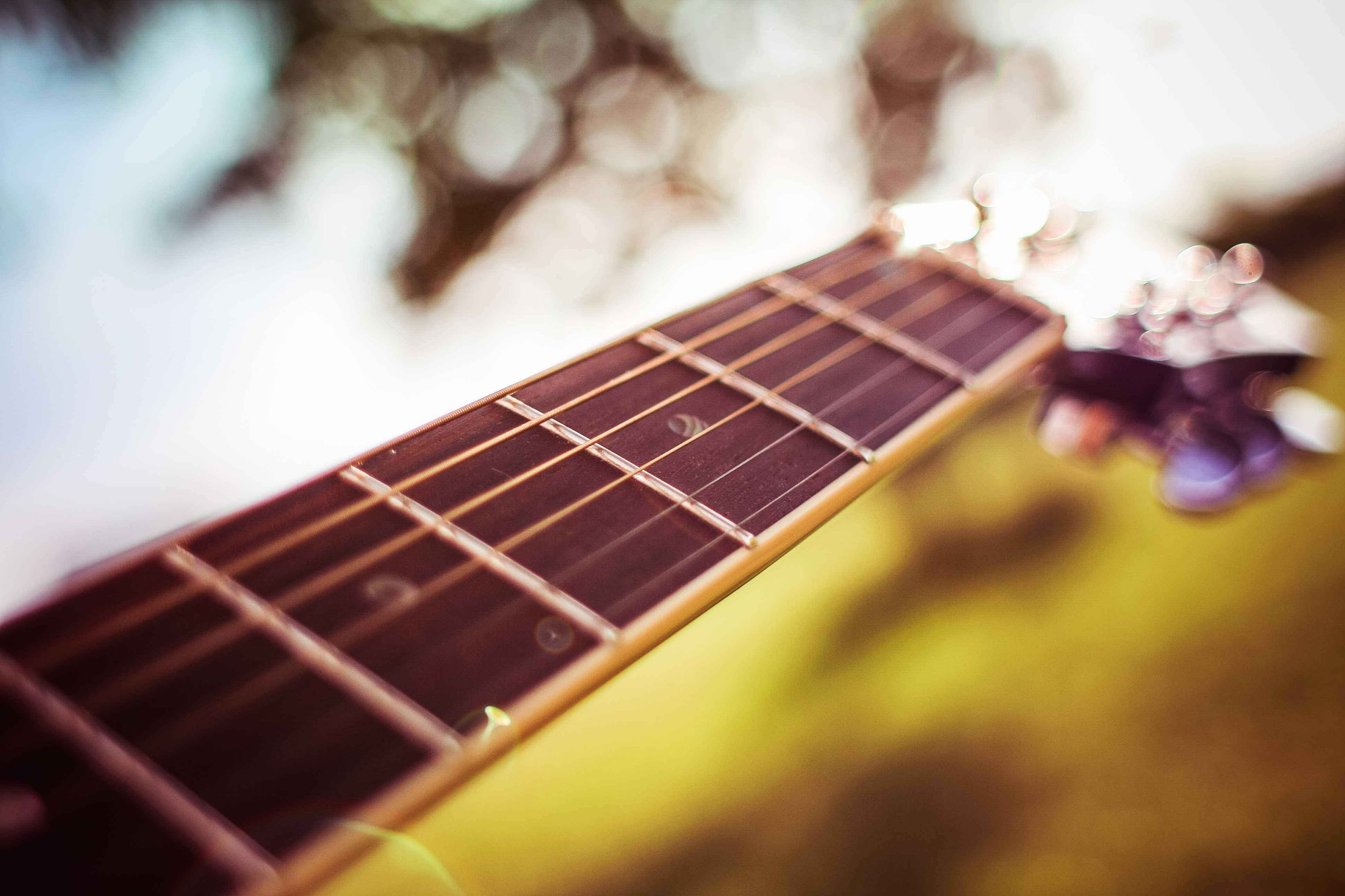 Gitarre Detail Hochzeitsmusik