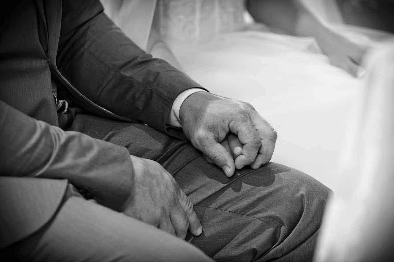 Paar - Hochzeitsanzug
