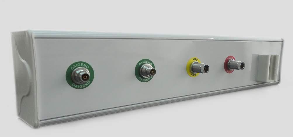 Poliducto simple cuatro gases