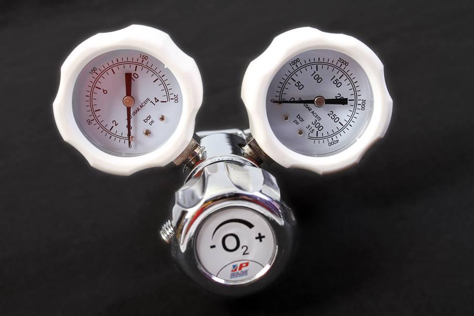 Regulador Junior para oxigeno