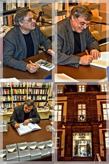 Lesung Kommissar Knauper Krimi bei Pieper - Saarlouis (c) www.manfredspoo.de