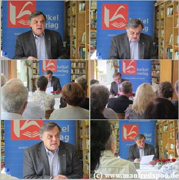 Lesung Kommissar Knauper Krimi (c) www.manfredspoo.de Heusweiler