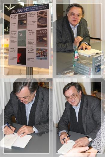 Lesung Kommissar Knauper Krimi (c) www.manfredspoo.de Leipziger Buchmessee