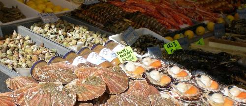 """""""Hauptsach' gudd gess!"""" - Dank der neuen Kläranlage in Obersaarlingen können jetzt wieder diverse Köstlichkeiten aus der Saar gefischt werden."""