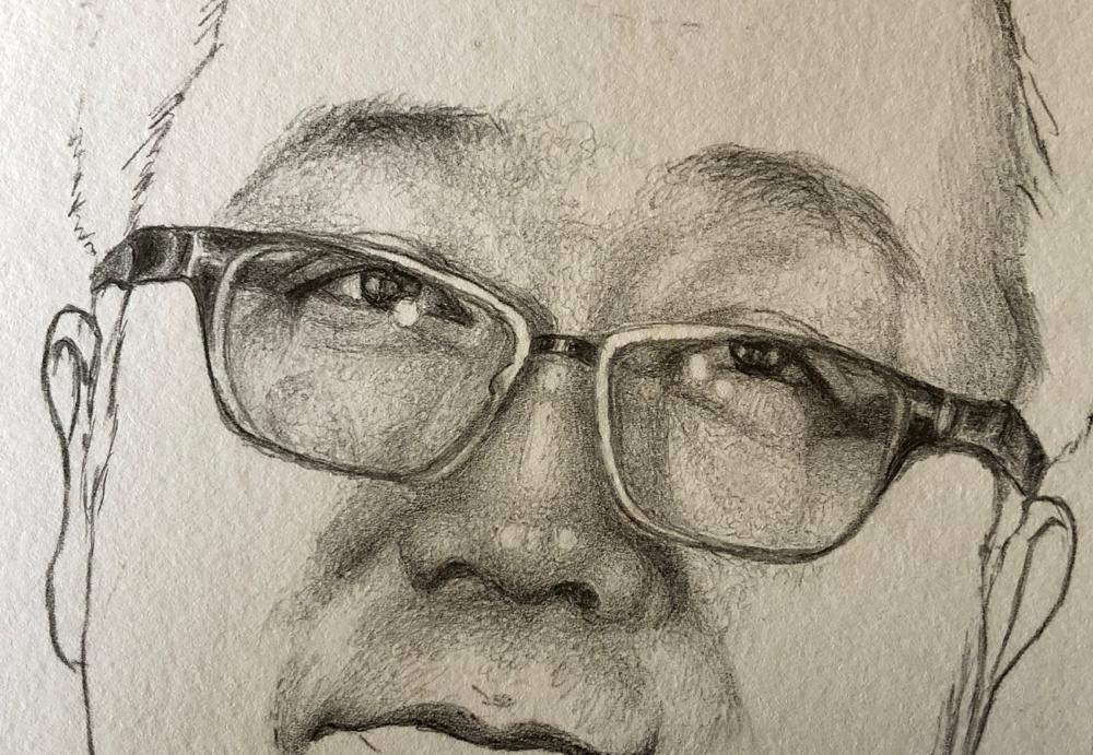 大好きな人を描きたい。