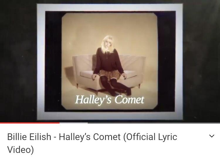 ハレー彗星、 この曲可愛い