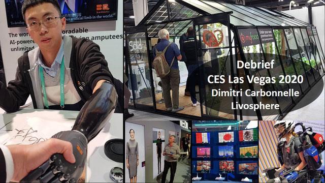 CES Las Vegas 2020 : Retours IA, Robots, Résilience, transport, 5G, VR, Cybersécurité