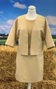 Fortum et Spinnova  vêtements  déchets agricoles,  paille de blé.