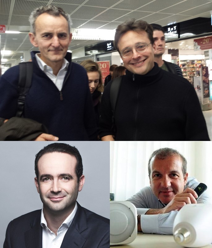 Eric Carreel (Withings) Fred Potter (Netatmo) Jean-Marc Prunet (MyFox) Alain Molinié (Awox)