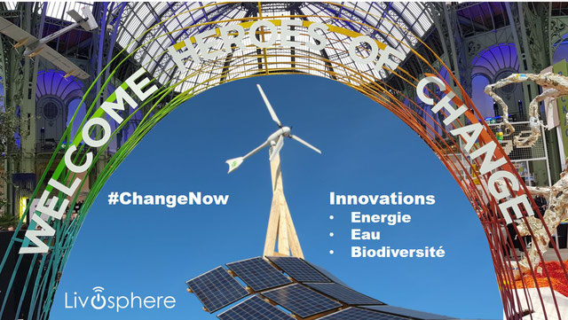 ChangeNow - Innovations Énergie, Eau, Biodiversité (yc compensation carbone, taxe carbone, énergies renouvelables)