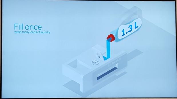 Bosch i-Dos Dosafe automatique de lessive pour machine à laver le linge