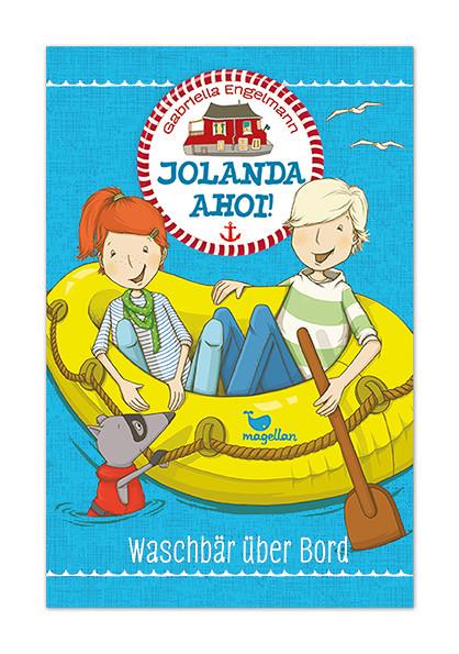 """""""JOLANDA AHOI! Waschbär über Bord"""" Magellan Verlag 2015"""