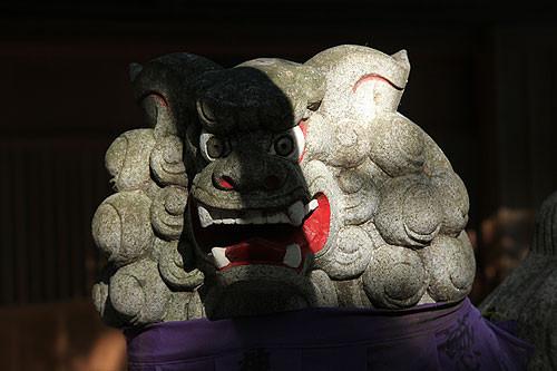 花の窟神社 狛犬