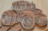 Трактор, картинка для выпиливания 26х30