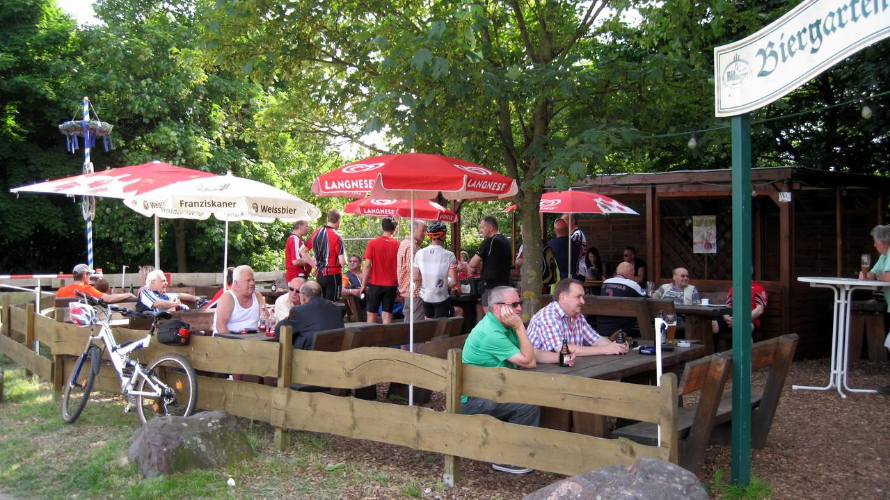 Biergarten zur Staustufe - Beckingen