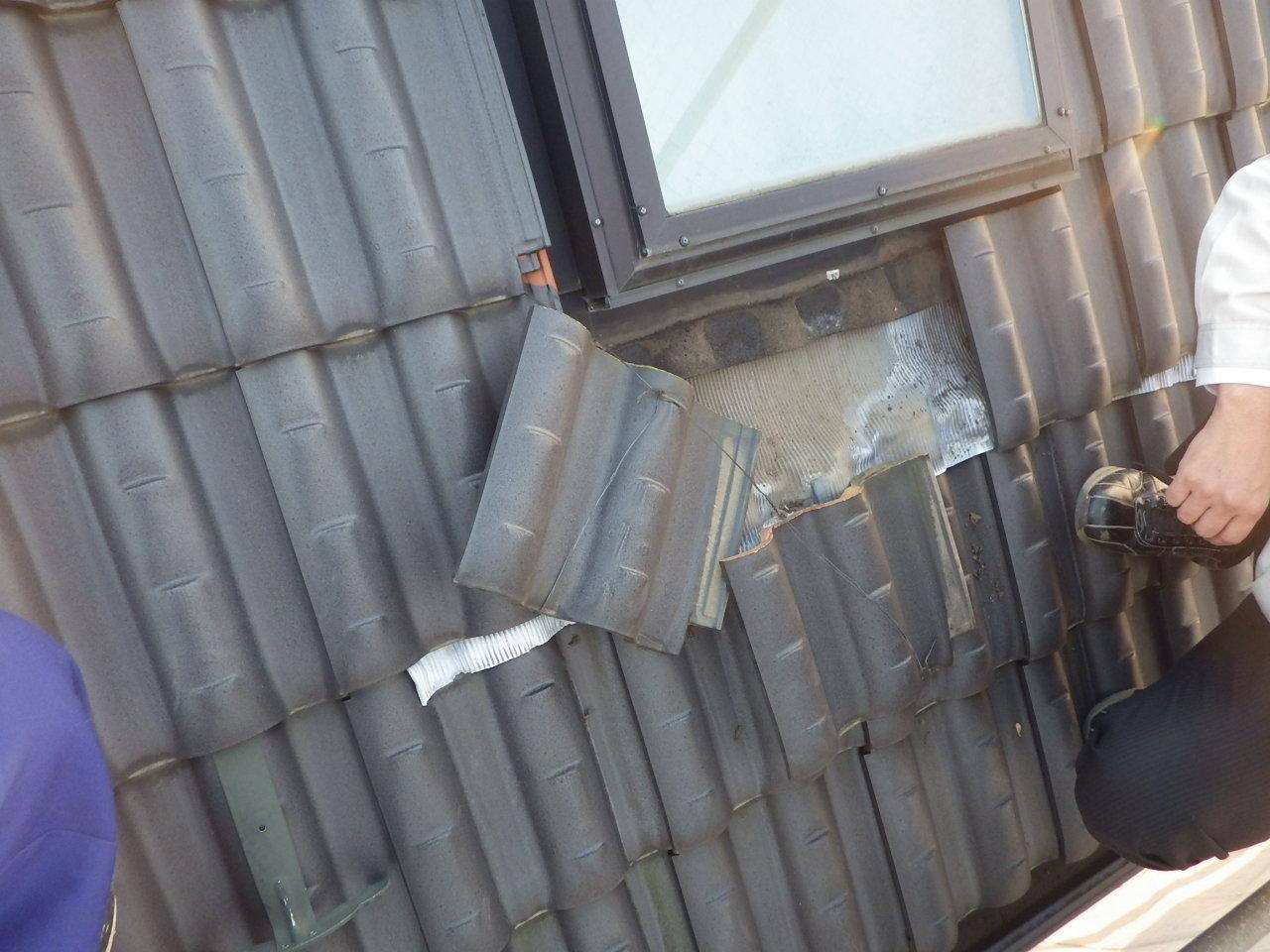 トップライト(天窓)廻りの雨漏れ修理 in宇都宮市