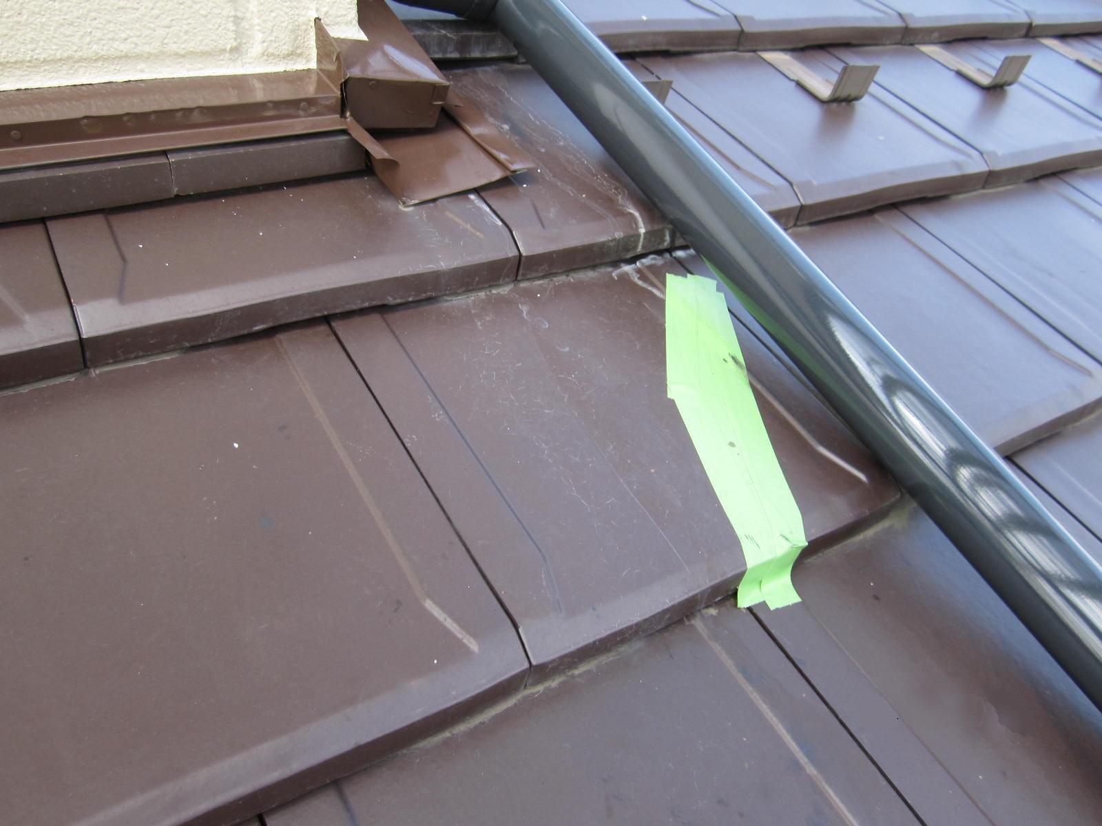 宇都宮市で洋瓦を差し替え工事を行いました