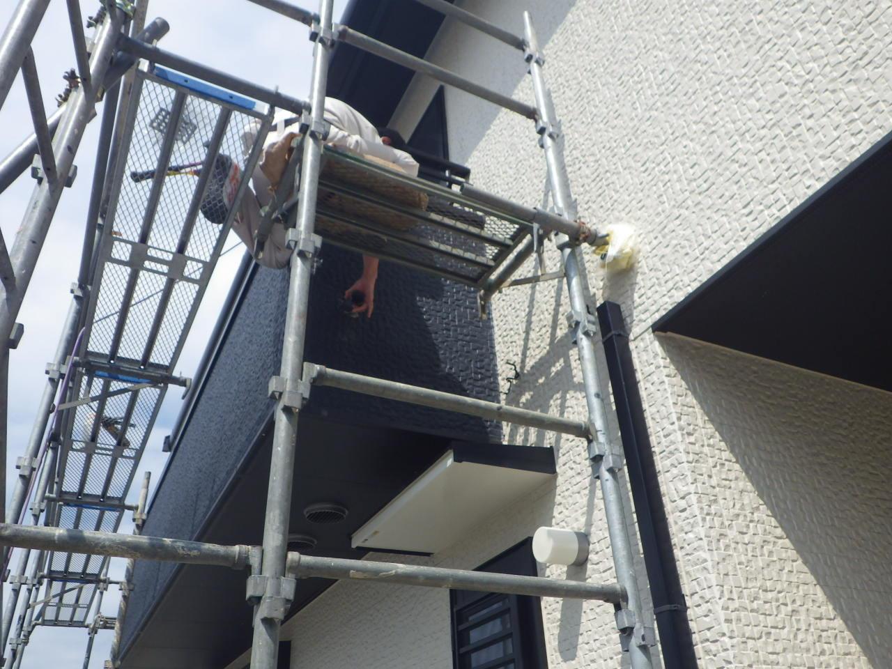 樋の増設工事 in那須烏山市