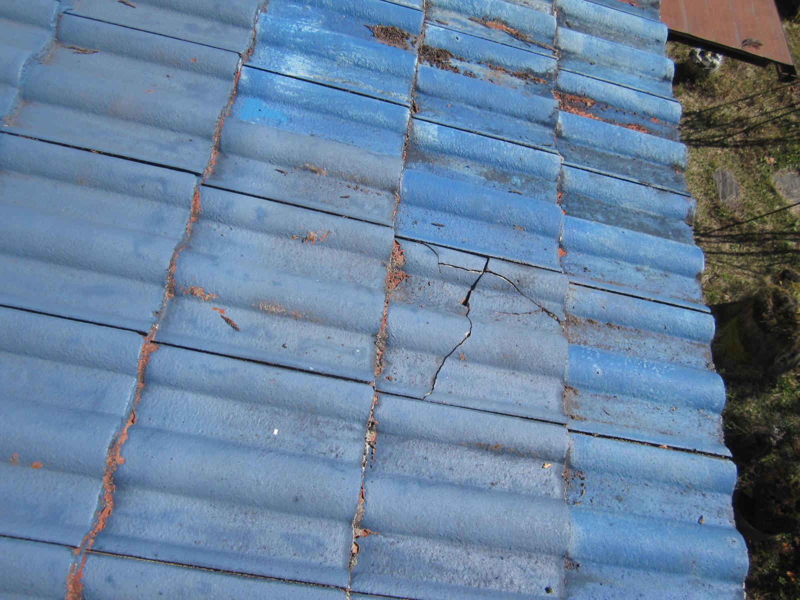 モニエル瓦(センチュリオン)の破損地瓦差替え工事をします in塩谷町
