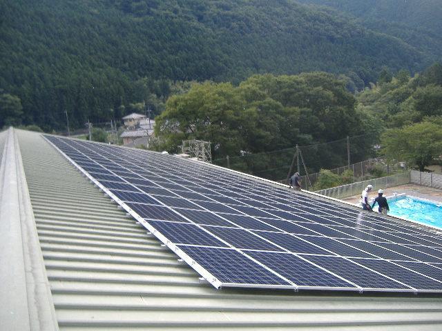 太陽光パネルを設置しました in桐生市