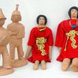 Gladiatoren, Gliederfiguren