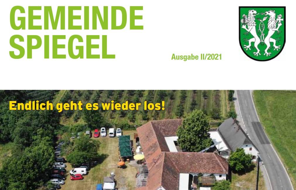 Gemeindespiegel II/2021 zum Download bereit!