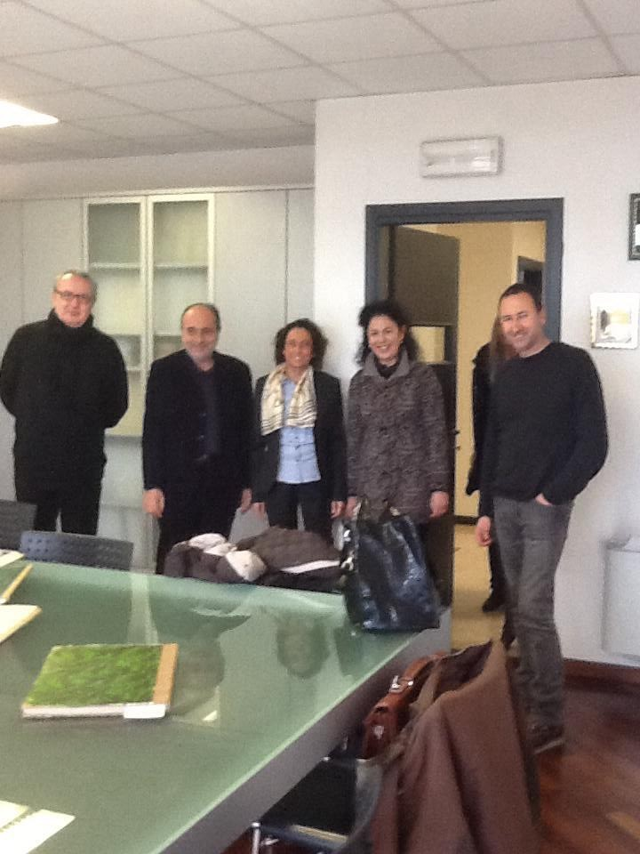 Ospiti del Sindaco Catia Zorzi di San Giorgio delle Pertiche (PD) tutta la troupe