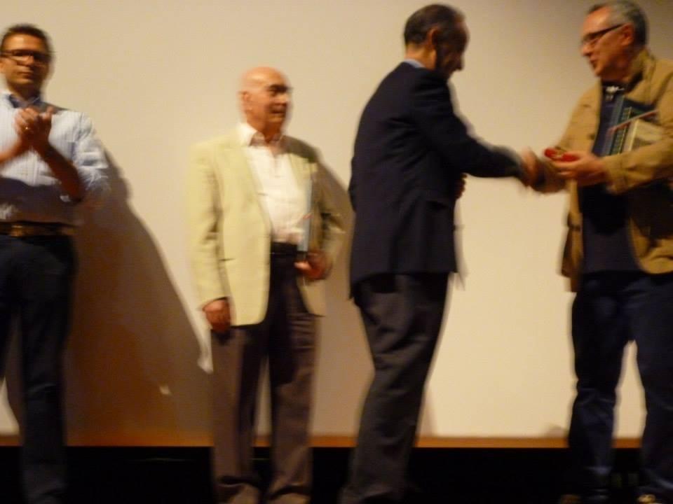 Il Vice Presidente della Regione Veneto, Marino Zorzato e il regista Mauro Vittorio Quattrina