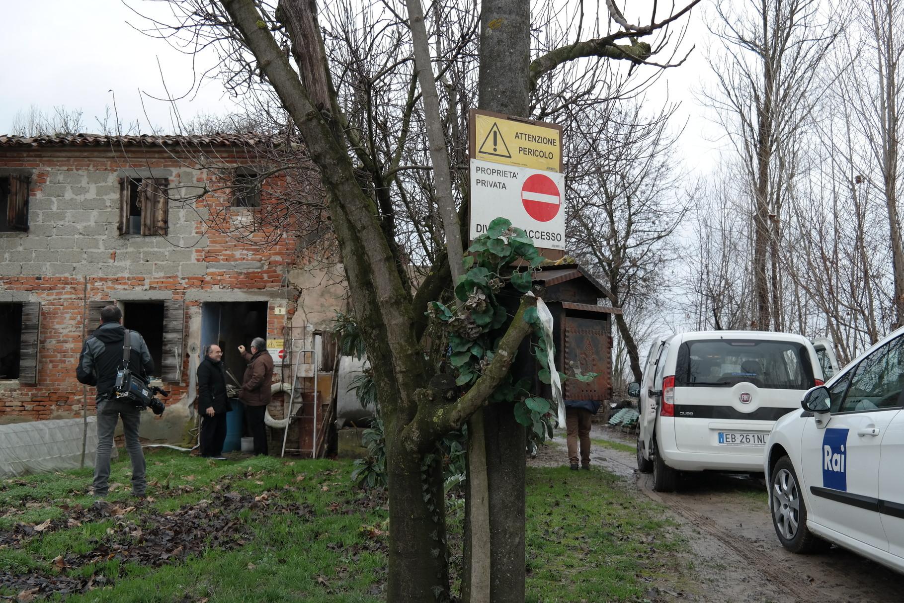 La casa della famiglia Miozzo Zoccarato a Cavino (PD)