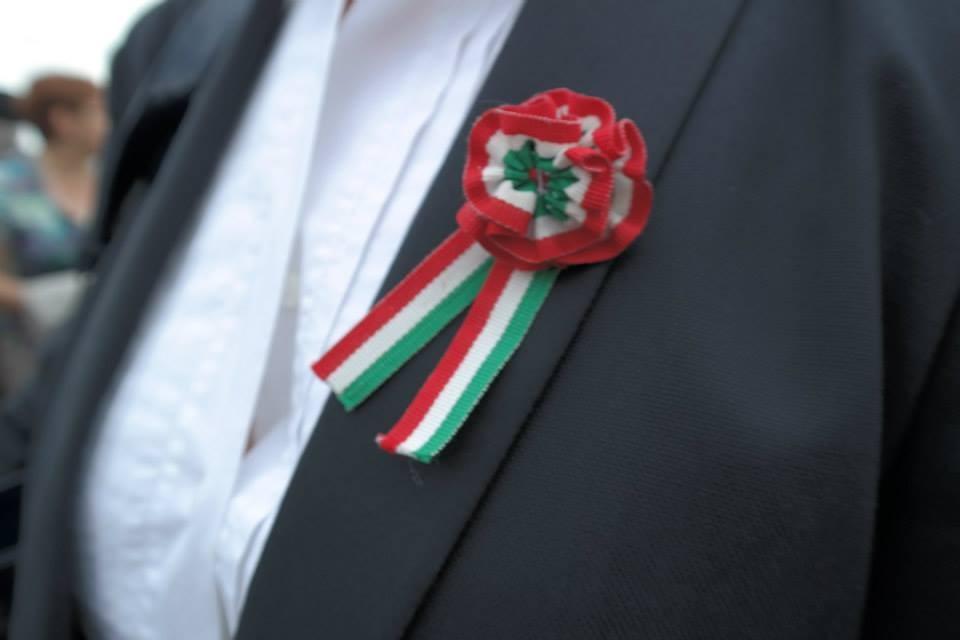 Orgogliosa di portare la Coccarda Italiana e di rappresentare l'Italia e soprattutto il Comune di San Giorgio delle Pertiche (Padova)