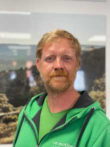 Mark aus dem Lastenfahrrad-Zentrum Tönisvorst