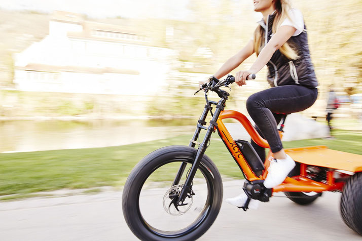 XCYC Pickup Allround Lasten e-Bike / Lastenfahrrad mit Elektromotor 2020 mit Bosch Antrieb