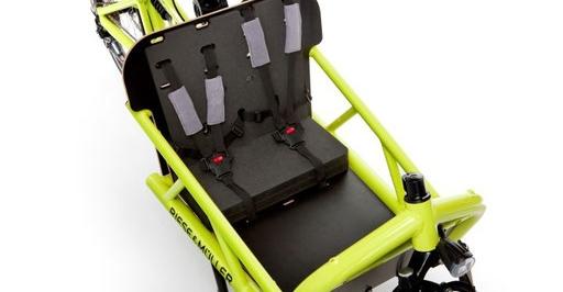 Riese und Müller Lasten e-Bike, e-Cargobike Load Zubehör und Ausstattungsoptionen mit Kindersitzen für 2