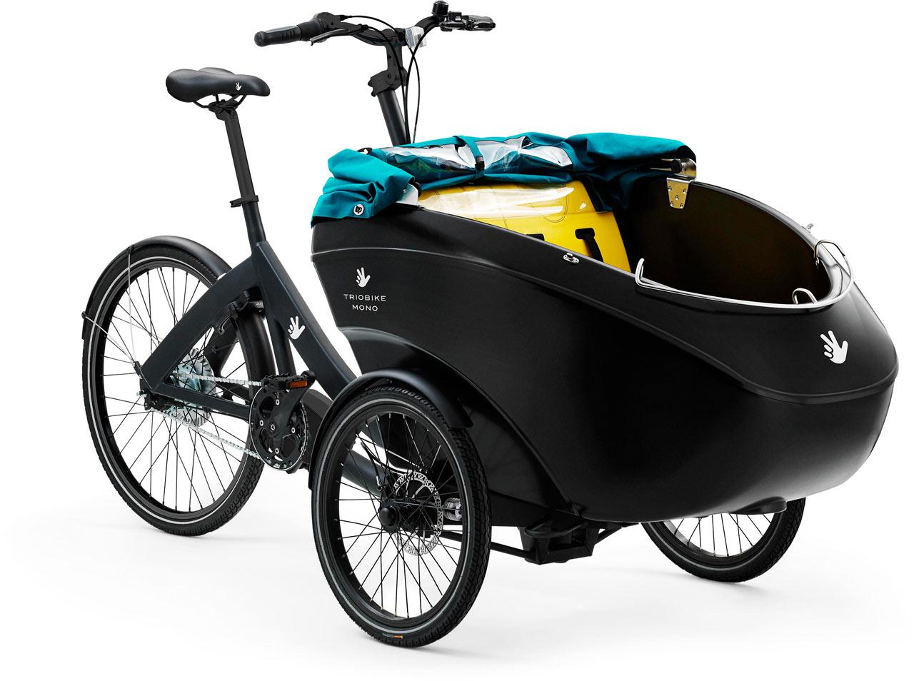 Triobike Mono E Nexus Lasten e-Bike / Cargo e-Bike 2020